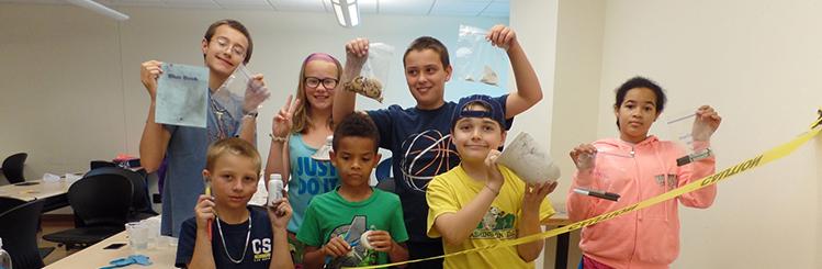 MWCC Kids Summer Academic Adventures Students