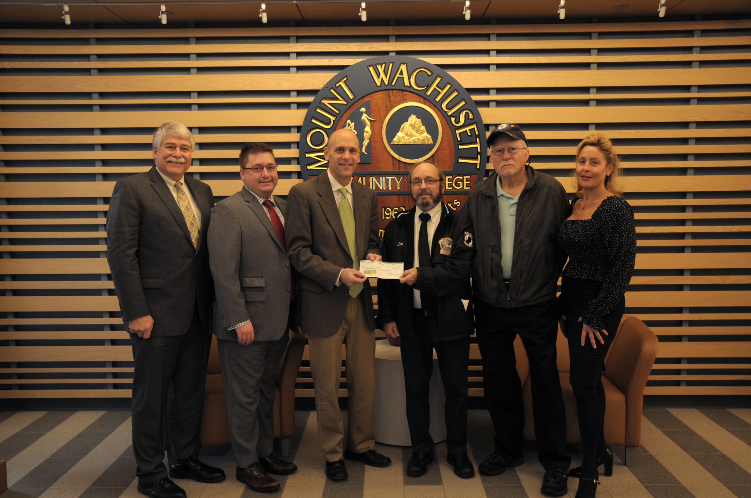 VVA Scholarship Check
