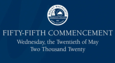 55th Commencement Opening Screen